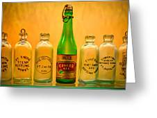 Empties Greeting Card