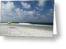 Empty Beach Greeting Card