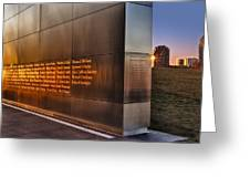 Empty Sky Nj 911 Memorial  Greeting Card