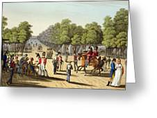 Encampment Of The British Army Greeting Card