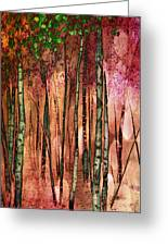 Enchanted Forest Greeting Card by Stephen Norris