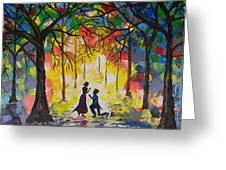 Enchanted Proposal Greeting Card