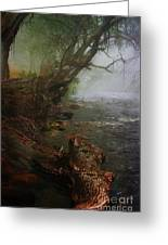 Enchanted River In The Mist Greeting Card