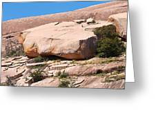 Enchanted Rock Boulder 1 Greeting Card