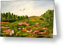 Enchanted Valley Greeting Card by Barbara Pirkle