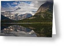 Enchanting Swiftcurrent Greeting Card