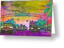 Encinitas California 5d24221p68 Greeting Card by Wingsdomain Art and Photography