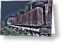 End Of The Line. Greeting Card