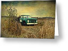 End Of The Ride  Greeting Card by Dianne  Lacourciere