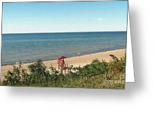 End Of The Season At Wendt Beach Park Greeting Card