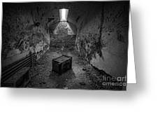 End Table Bw Greeting Card