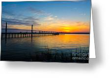 End To The Day Greeting Card