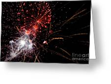End With A Bang Greeting Card