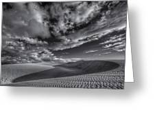 Endless Black And White Greeting Card