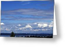 Endless Clouds Greeting Card