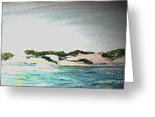 Endless Fog In Provincetown Greeting Card