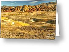 Endless Painted Hills Greeting Card