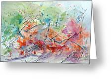 Energy In Motion  Greeting Card