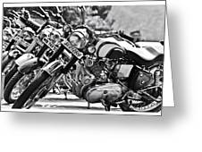 Enfield Motorcycles Greeting Card