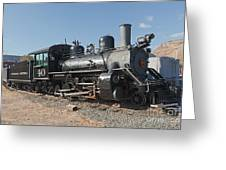 Engine 40 In The Colorado Railroad Museum Greeting Card