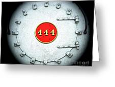 Engine 444 Greeting Card