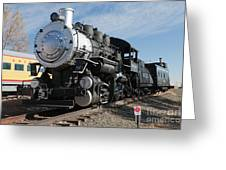 Engine 4455 In The Colorado Railroad Museum Greeting Card