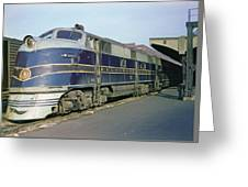 Engine 52 Greeting Card