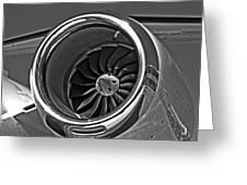 Engine Citation Cj2 Greeting Card