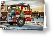Engine Company 701 Greeting Card