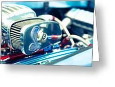 Engine Detail Greeting Card