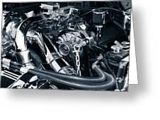 Engine Details Greeting Card