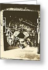 Engine Iron Greeting Card