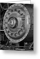 Engine Number 3 Greeting Card