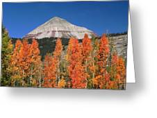 2d10688-engineer Mountain In Fall  Greeting Card
