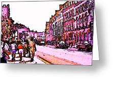 England 1986 Oxford Street Snapshot0145a Jgibney The Museum Zazzle Gifts Greeting Card