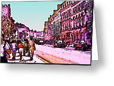 England 1986 Oxford Street Snapshot0145a3 Jgibney The Museum Zazzle Gifts Greeting Card