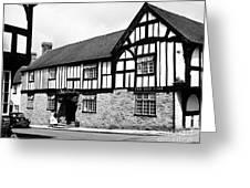 England: Red Lion Inn Greeting Card