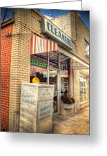 Englewood Cleaners 4540 Greeting Card