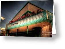 Englewood Theater 4507 Greeting Card