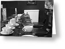 English Breakfast Greeting Card