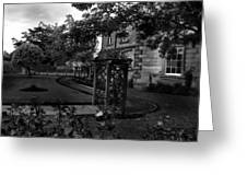 English Country Garden And Mansion - Series II Greeting Card