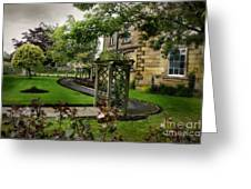 English Country Garden And Mansion - Series IIi. Greeting Card