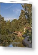 English Country Scene Greeting Card
