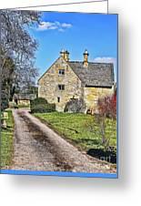 English Farmhouse Greeting Card