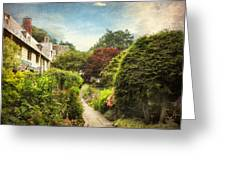 English Garden Greeting Card