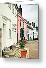 English Houses Greeting Card