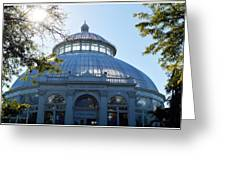 Enid A.haupt Conservatory Greeting Card