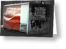 Enjoy Coca Cola  Greeting Card