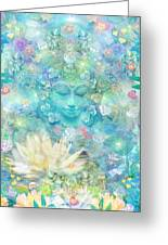 Enlightened Forest Heart 3 Greeting Card