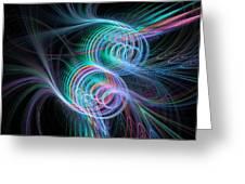 Enlightening Rhythm Greeting Card